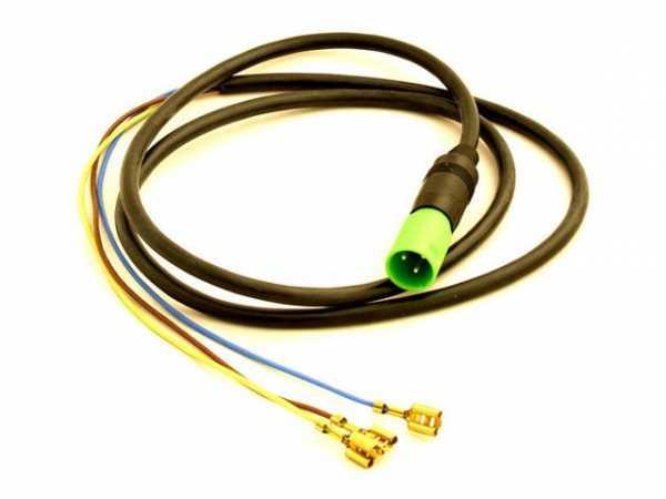 WOLF 279904699 Steckerteil mit Kabel für Ventilator(ersetzt Art.-Nr. 2799046)