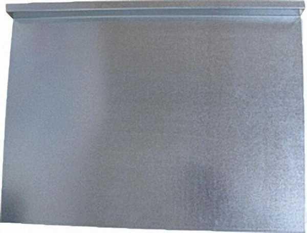Fachboden Stahlblech 1mm feuerverzinkt 600 x 430mm