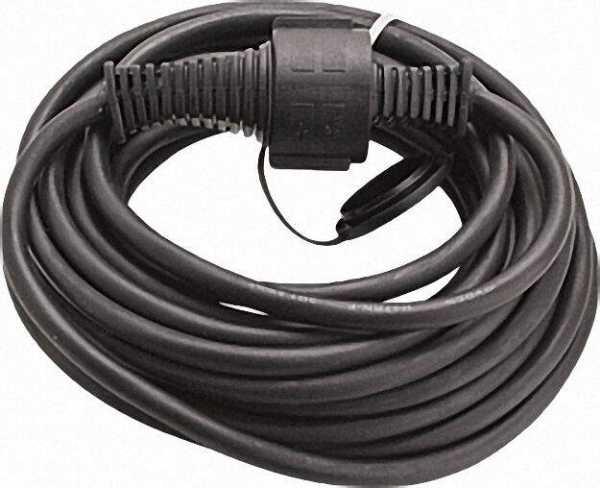 Verlängerungsleitung Typ Qualitäts- Baustellenkabel IP44 Kabellänge=25m Farbe Schwarz
