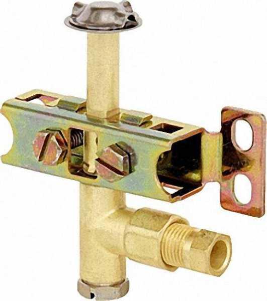Zündbrenner Serie 100, 3-flammig Düse 0,35mm, verschraubung für 6mm Rohr Referenz-Nr.: 0.100.004