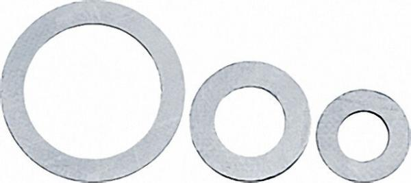 Graphit-Dichtung mit Trägerbl. DIN 2690 schwarz 28x53mm 2mm stark
