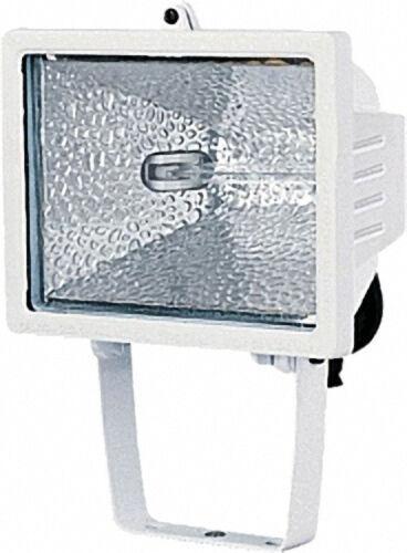 Halogenstrahler 500 IP44 350 W Farbe: Weiß