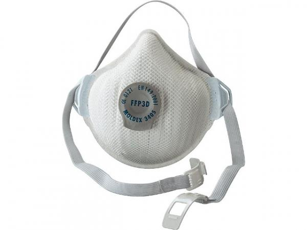 Atemschutzmaske FFP3 D Aktiv Form mit Klimaventil Air Plus VPE 5 Stück