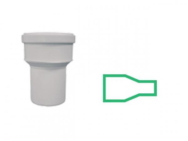 Reduzierst/ück 160 mm auf 150 mm zur Verj/üngung oder Erweiterung von Rohren