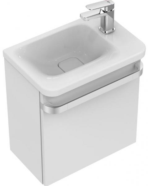 IDEAL STANDARD K0867MA Tonic II Handwaschbecken 460 mm, Ablage rechts,weiß/Ideal Plus
