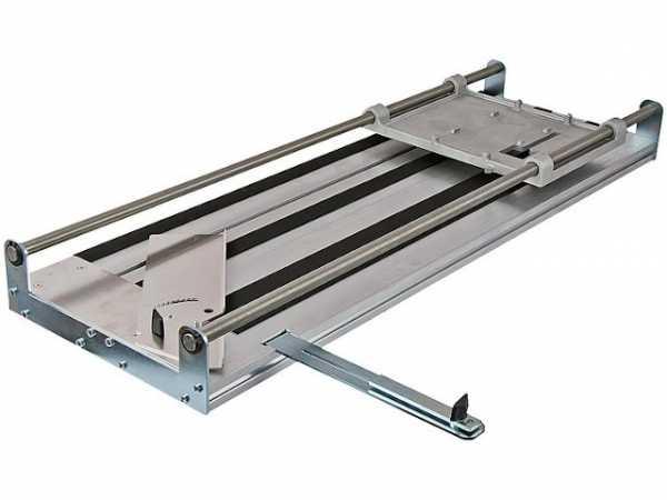 Trenntisch Eibenstock Edelstahl/Aluminium-Kombination max. Schnittlänge: 700mm