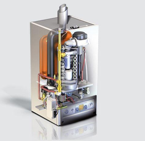 WOLF 8613094C13 Paket Brennwerttherme CGB-35 Erdgas LL
