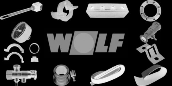 WOLF 8903089 Schalldämmhaube komplett, Silber
