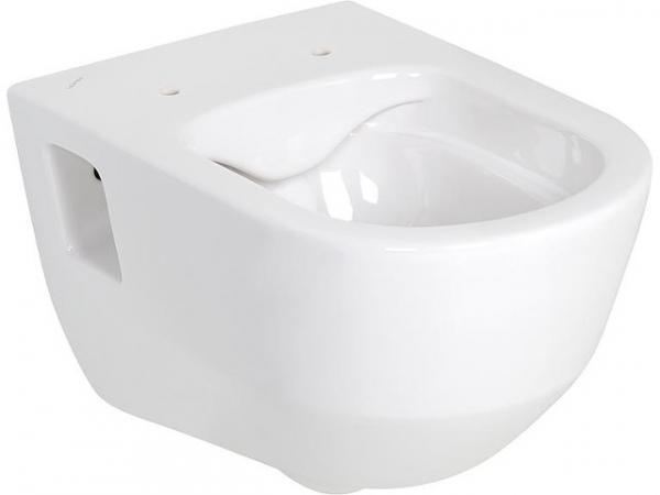 Wandtiefspül-WC Laufen PRO, weiß, spülrandlos, mit Befestigungsnischen, BxHxT 360x340x530mm