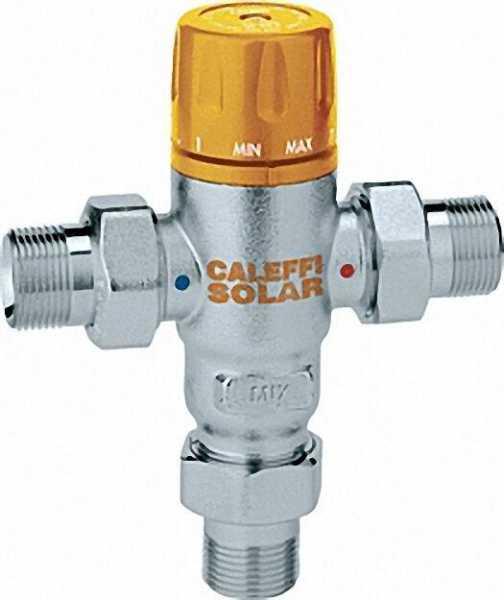 CALEFFI Solar Thermomischer 3/4'' Einstellbar von 30°-65°C