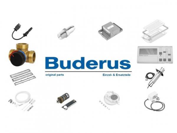 Buderus 7739601651 10 m Abgasrohr pp DN110 mit Pruefoeffn. Effektivlänge 10180 mm