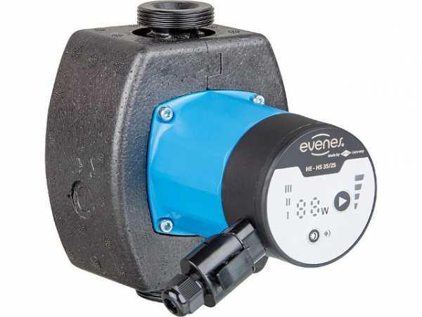 Umwälzpumpe Evenes HE-HS 55-25, DN25(1'), PN10 230V, Baulänge: 130mm