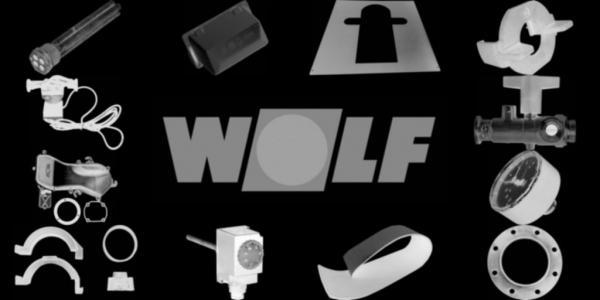 WOLF 8700242 Verkleidung oben vorne