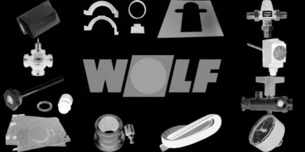 WOLF 8907173 Verkleidung beide Seiten hinten, Weiß