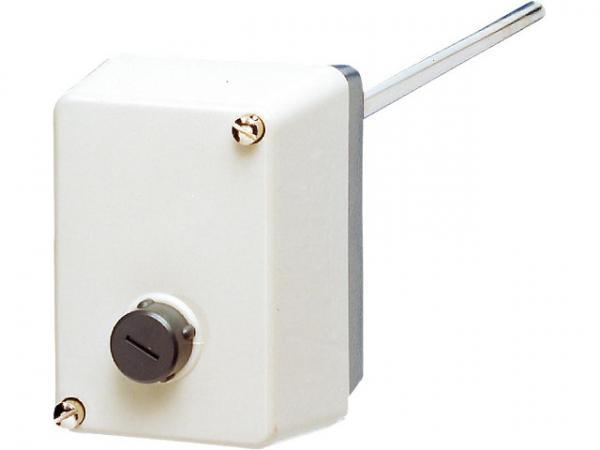 Jumo 60001044 Aufbau-Thermostat ATHs-70 (STB) mit Außenentriegelung 60-130°C,8 x150 mm
