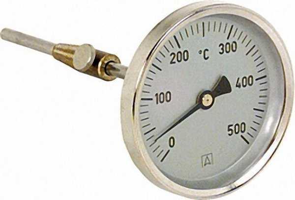 AFRISO Rauchgasthermometer RT 80/300 Fühlerlänge 300mm