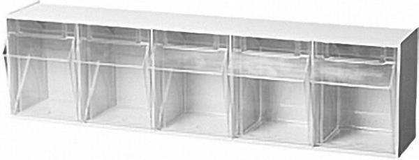 Sichtlagerkasten transparent 5 - fach