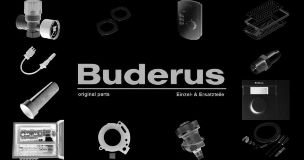 Buderus 63004281 Netzanschluss für Correx IMP 5000mm