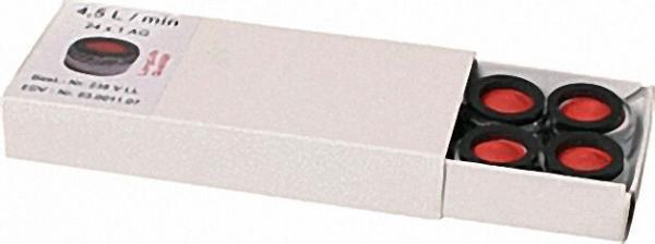 Spar-Strahlregler ohne Prüfzeichen AG M24X1 mit Gummidichtung Spar-4,5 l/min VPE 10 Stück