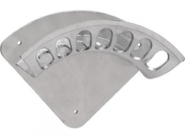 Metall-Wandschlauchhalter 417mm