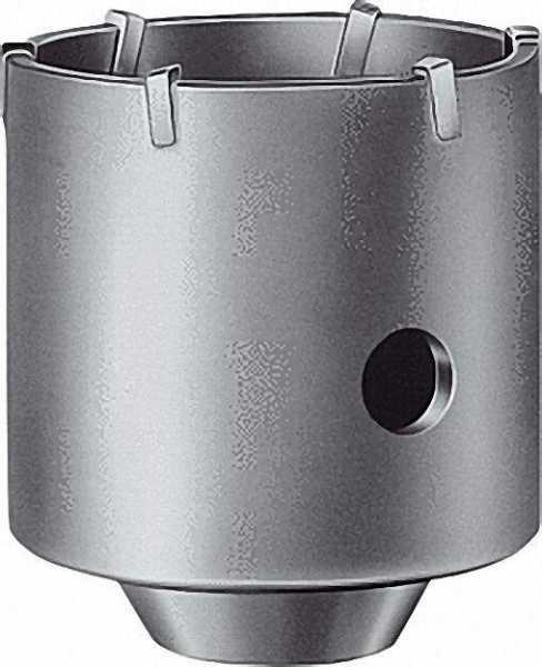 Bohrkrone komplett SDS-plus Durchmesser 82mm mit schaft und Zentrierbohrer