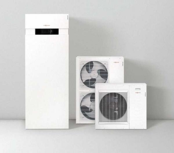 VIESSMANN Z011463 Vitocal 222-S, TypAWT-AC221. A04 Split Luft/Wasser-Wärmepumpe mit 3,0kW