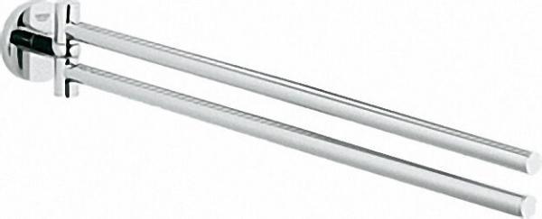GROHE Handtuchhalter 'Essentials' 2-armig chrom