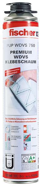 Fischer Premium WDVS Klebeschaum PUP 750 Schaumausbeute bis ca. 12 qm Wärmedämmverbundsystem
