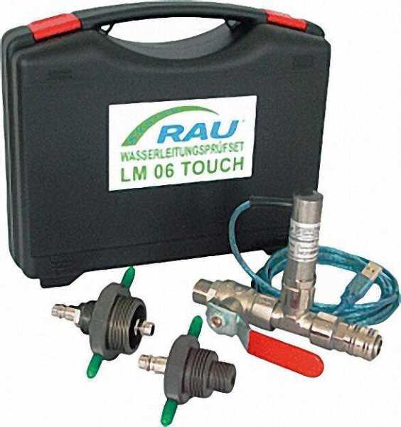 RAU Wasserleitungsprüfset zu LM 06 TOUCH/DPQ 02 inklusive Zubehör und Koffer