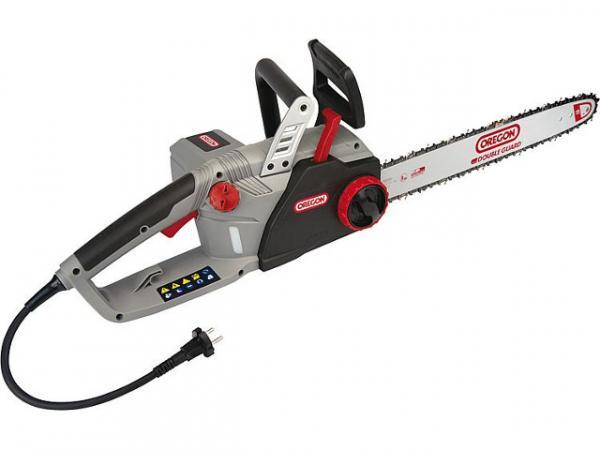 Elektrokettensäge Oregon CS1500 230V, 45cm Schwertlänge mit integriertem Schärfsystem