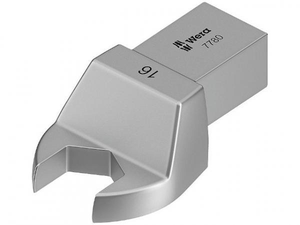 Einsteck-Maulschlüssel WERA Vierkant 14x18mm, Form B SW 18
