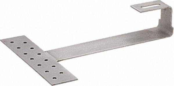 Dachhaken Standard für Biberschwanz, Edelstahl, für PV, Röhren- und Flachkollektoren