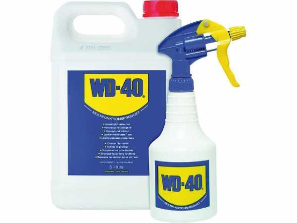 WD-40 Multifunktionsöl 5 Liter Kanister inkl. Zerstäuber