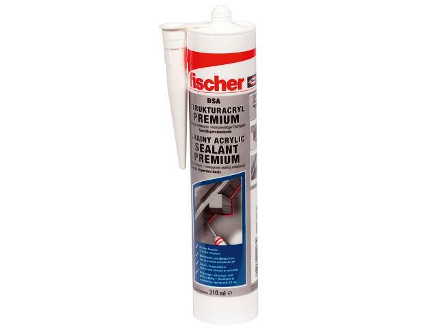 Fischer 512185 Strukturacryl Premium DSA 310ml weiß