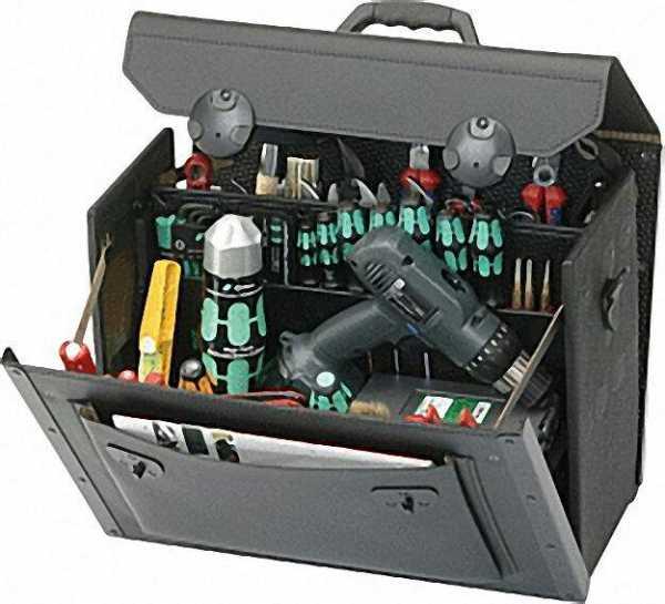 Werkzeugtasche 450x190x340mm schwarz 18,000-581