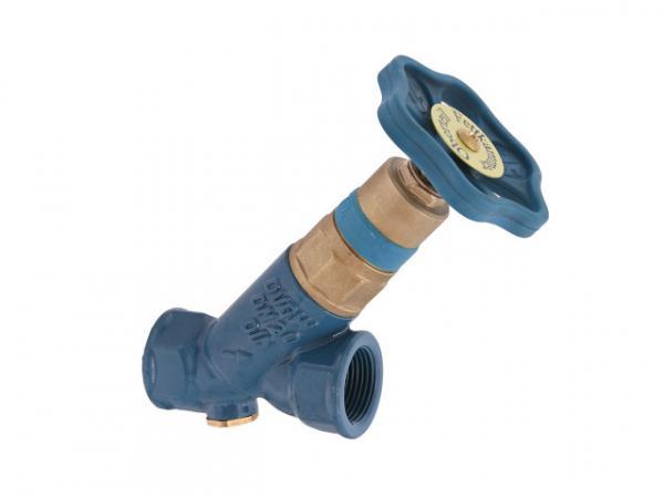 """KFR-Ventil, Serie Blue-tec, mit Muffenanschluss, ohne Entleerung, mit nicht steigender Spindel, DN65, Innengewinde 2 1/2"""", DVGW geprüft"""