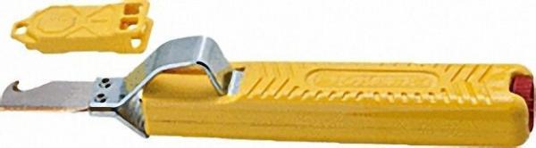 Kabelmesser mit TiN-Klinge Standard mit Hakenklinge für Kabel von 8-28mm