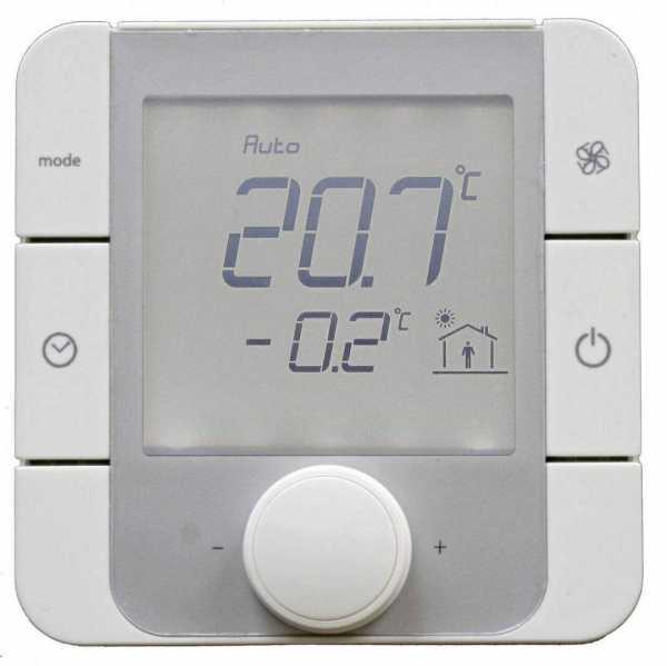 DIMPLEX 368500 RTHEconU Raumtemperaturregler mit Feuchtesensor zum Anschluss an