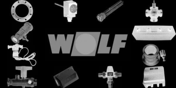 WOLF 2384284 Riemenspannrolle komplett GTK-4