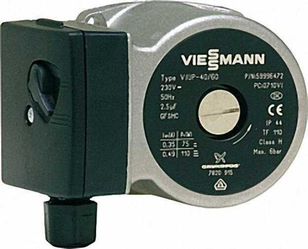 VIESSMANN Umwälzpumpenmotor UP 40/60 Referenz-Nr.: 7820915