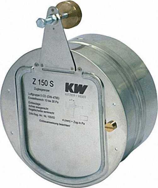 KW-Zugbegrenzer Reglerklappe Z 150 S 150mm Durchmesser