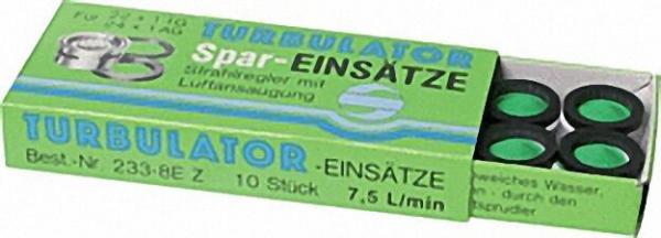 Siebeinsatz für Spar-Strahlregler M 22/24x1 mit Gummidichtung Spar 7,5 l/min ''VPE 10 Stück ''