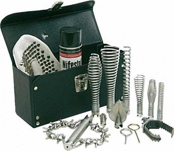 Werkzeugsatz 15-tlg. mit 16 und 22mm Vorsatzgeräten in Kunstledertasche