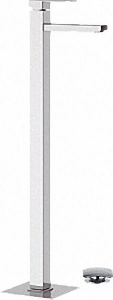 Einhebel-Waschtischmischer bodenstehend, Serie Skyline, Höhe Auslauf 95cm, mit click-clack