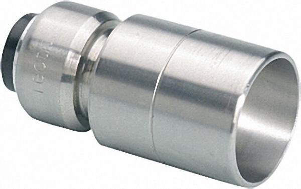Edelstahl-Steckfitting Reduziernippel (a/i) 42x35mm