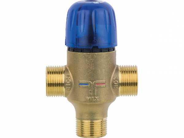 Thermostatisches Mischventil Novamix Value DN 15, 35-70°C 3/4', 26l/min, Kvs: 1,6