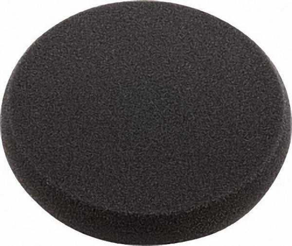Klett-Schwamm schwarz extremfein, sehr weich, 160x30mm für Polierer L 3403 VRG