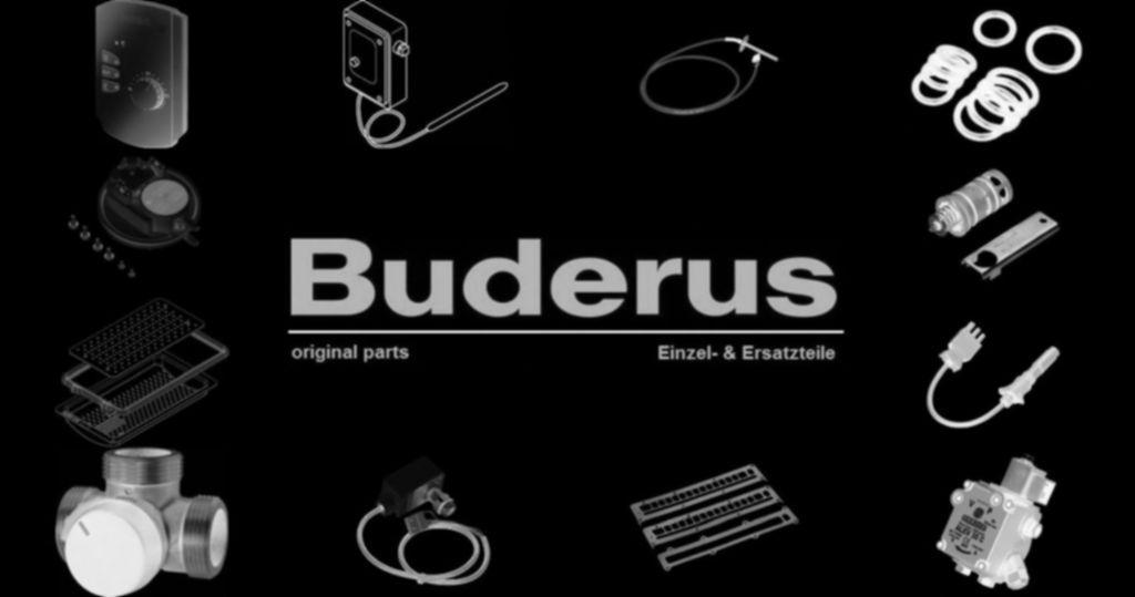 Buderus 7101152 Rohr Verbindung Gasanschluss