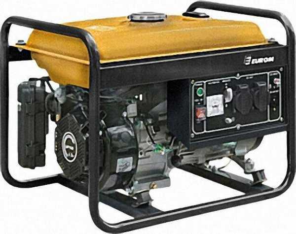 Generator GE2501 3, 5KW, 15 Liter-Tank