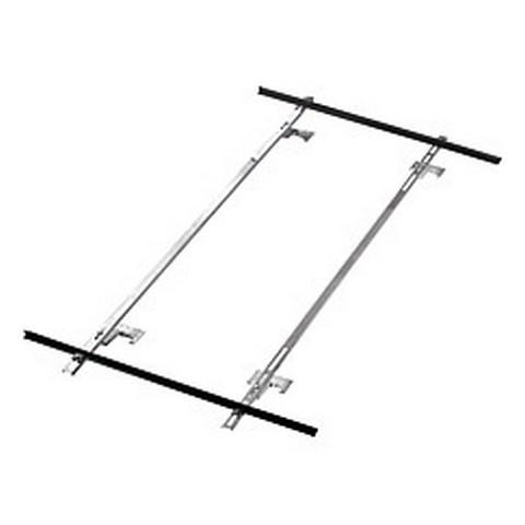 Erweiterung-Standard Aufdach- montageset für 1 Kollektor NX 2,0 25-60 Grad